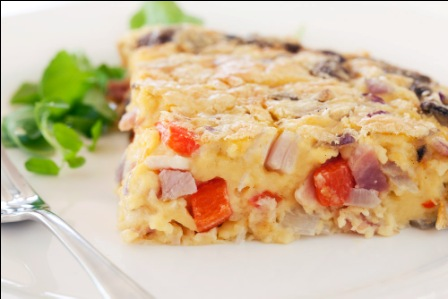 Food Lovers, Helen Jackson, recipes, food, website, Self crusting quiche, Photos by Carolyn Robertson
