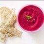 Foodlovers website, Helen Jackson. Beetroot dip. Photos by Carolyn Robertson