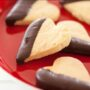 Foodlovers, Brown sugar shortbread hearts. Photos by Carolyn Robertson