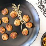 Foodlovers website, Helen Jackson. Recipes. Chicken meatballs. Photos by Carolyn Robertson