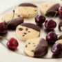 Foodlovers website, Helen Jackson recipes and food. Cherry chocolate shortbread. Photos by Carolyn Robertson