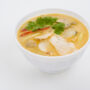 spicy coconut cream soup