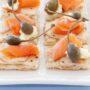 NZ Woman's Weekly Food, Helen Jackson, Bazaar Breads advertorial. Salmon pizza bites.Carolyn Robertson / Think Photography