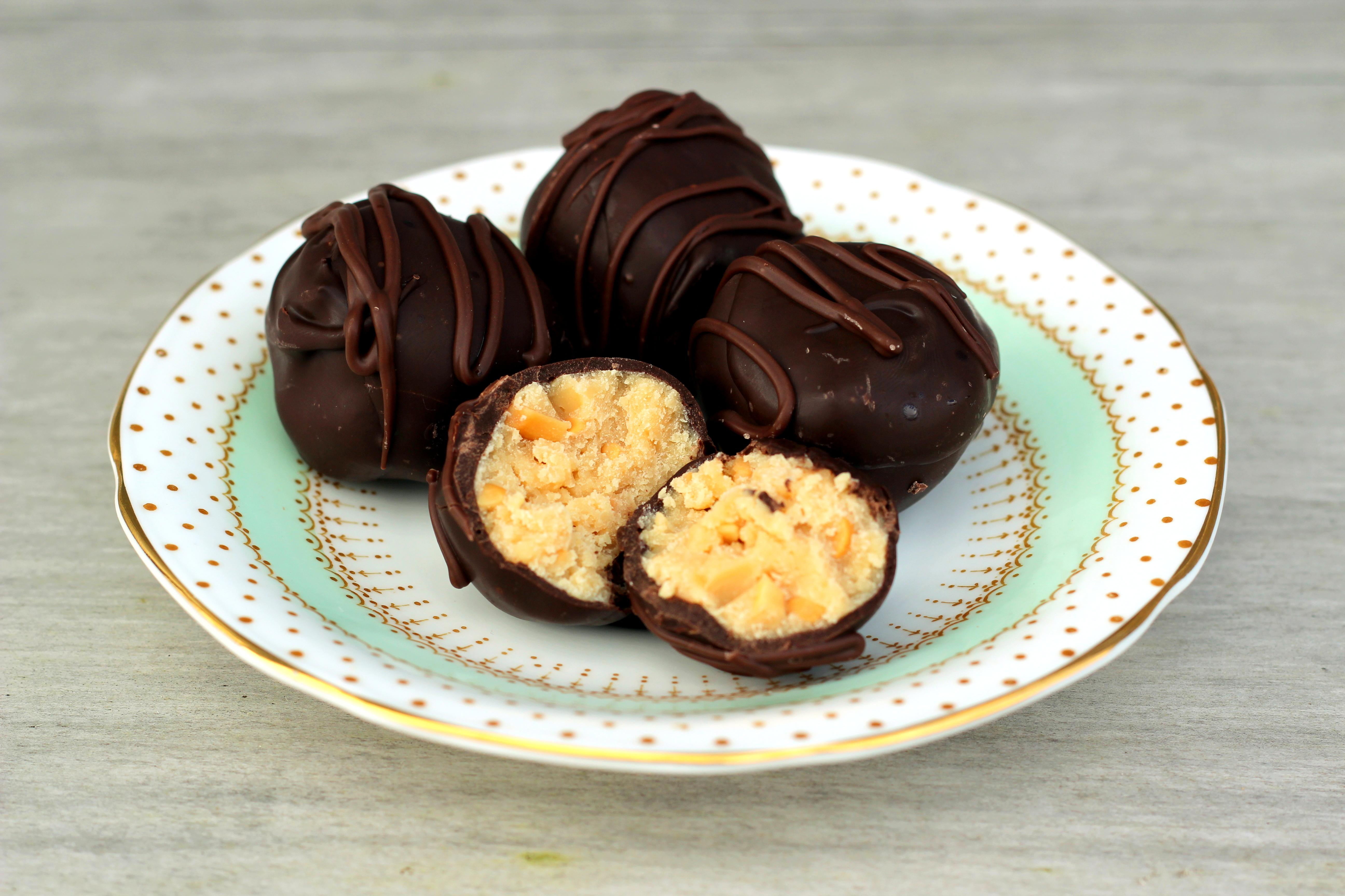Peanut Butter Truffles FOodlovers