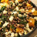 barley pumpkin salad