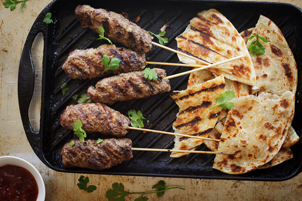 beef and pork kebabs