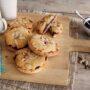 Jam and frangipani muffinsplits