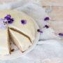Banana, Baileys and white chocolate cake