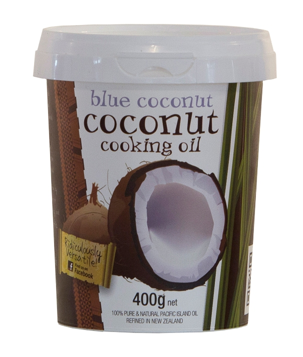 blue coconut oil
