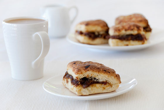 Date Filled Scones