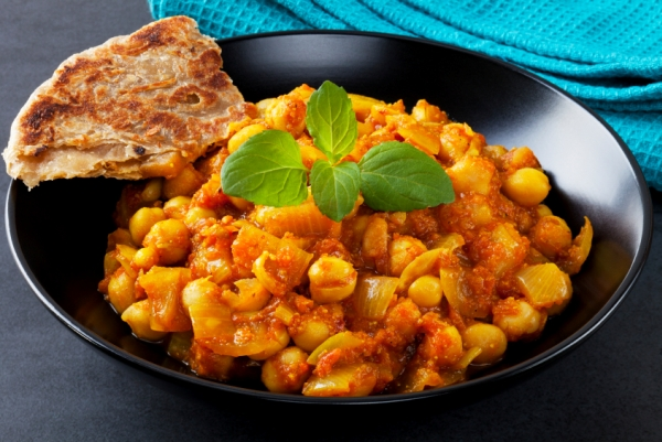 Indian Vegetarian Curry Chana Masala