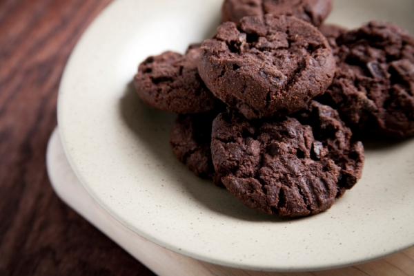 chocolate choc chip cookies