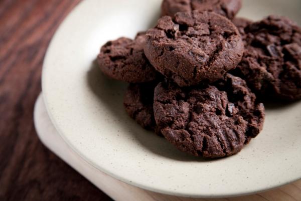 chocolate choc chip cookies