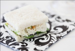 Foodlovers website, Helen Jackson. Recipes. Chicken and pistachio sandwiches. Photos by Carolyn Robertson