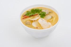 spicy coconut cream soup