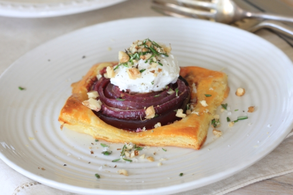 beetroot pastry