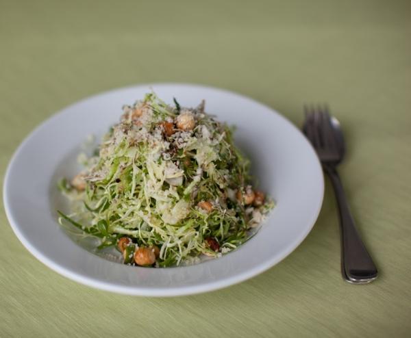 Shaved Cabbage Salad foodloers