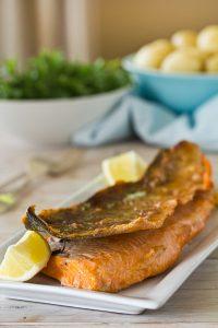 salmon crispy skin