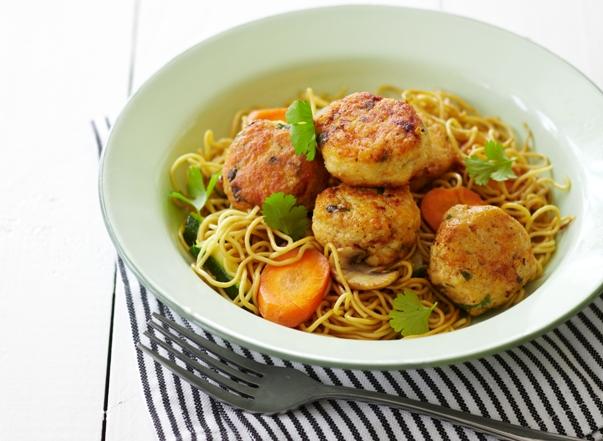 thai meatballs chicken