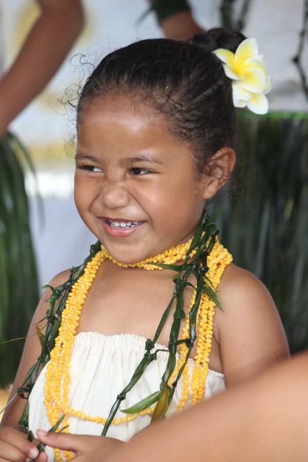 Niue girl