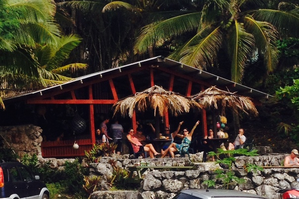 washaway cafe Niue