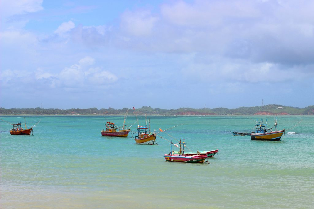 Galle fishing boats
